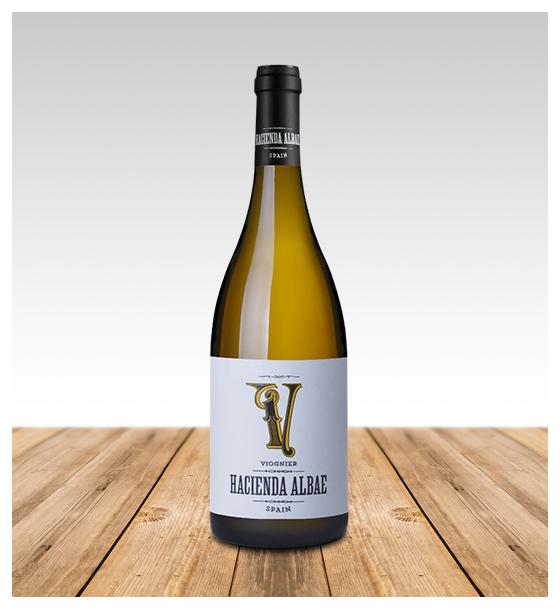 Vino Blanco Bodega Hacienda Albae Viognier